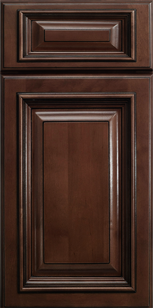 Signature Brownstone Cabinet style